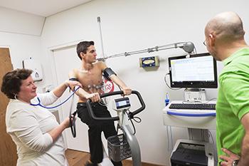 Belastungs EKG (Ergometrie) Internisten Stockerau